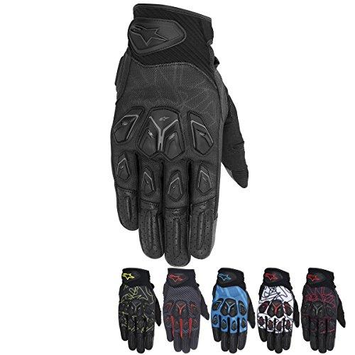 Alpinestars Masai Mens Street Motorcycle Gloves - BlackGrayRed  Medium