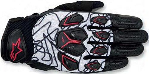 Alpinestars Masai Mens Street Motorcycle Gloves - BlackWhiteRed  Small