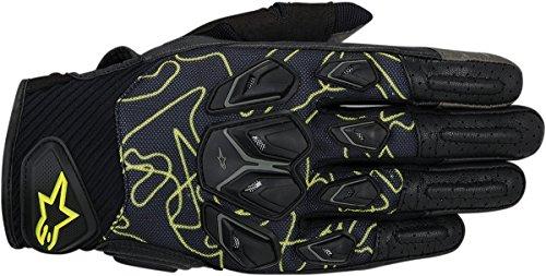Alpinestars Masai Motorcycle Gloves BlackYellow Sm 3567414-155-S
