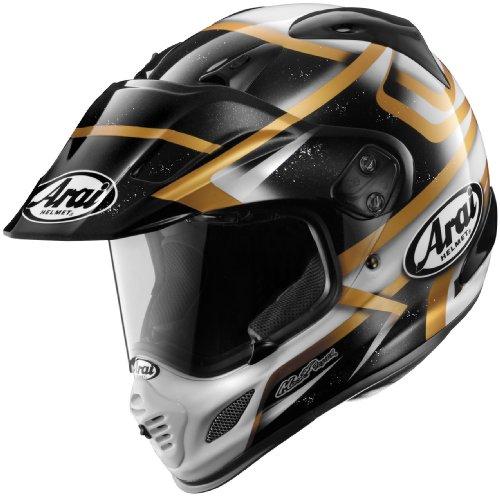 Arai Helmets Visor for XD4 Helmet - BlackWhiteGold 810448