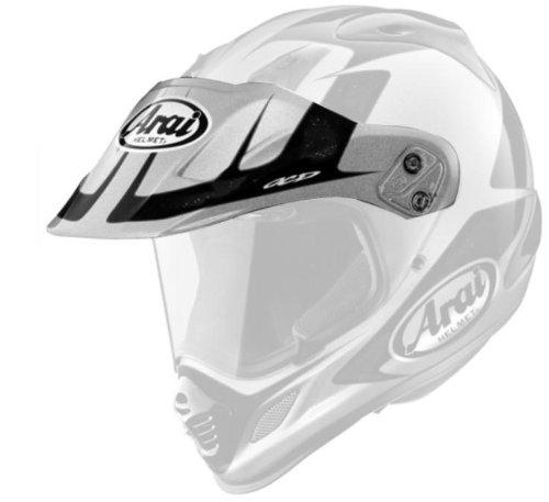 Arai Peak Visor for XD4 Explore WhiteSilver Helmets - One Size