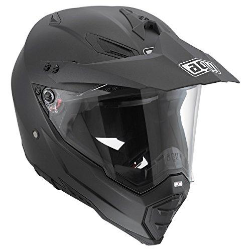 AGV AX-8 Dual Evo Matte Black Full Face Helmet M