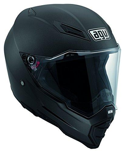 Agv AX 8 Evo Naked Matt Black Helmet-Matt Black-2XL
