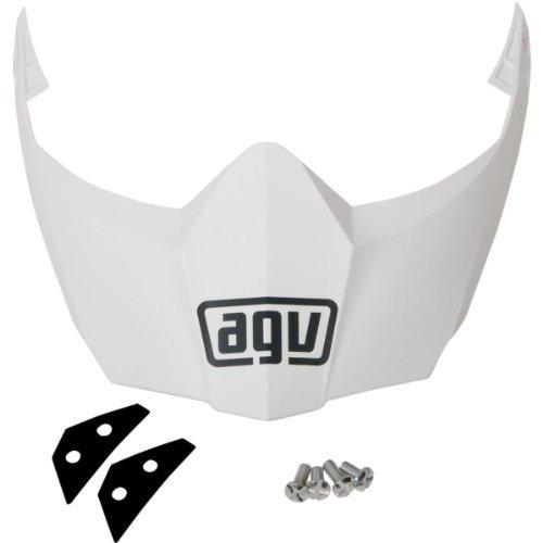 AGV Helmet Visor for AX-8 Dual SportEVO - White KIT76109001