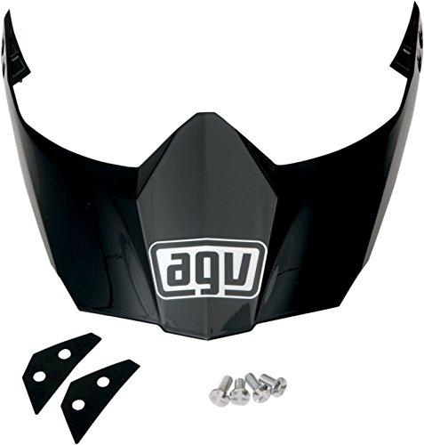 AGV Peak for AX-8 Dual Sport EVO Helmet - Matte Black KIT6113004