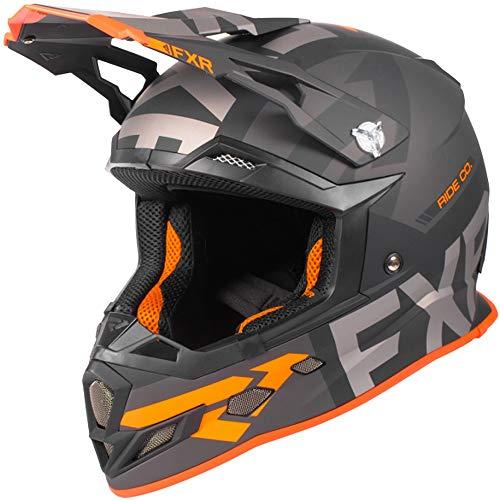 FXR Boost Evo Helmet BlackCharcoalOrange X-Large