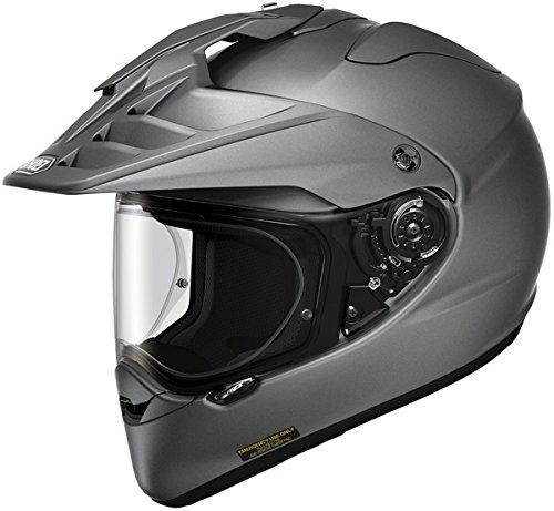 Shoei Hornet X2 Deep Matte Grey Dual Sport Helmet - X-Small