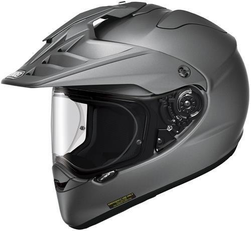 Shoei Hornet X2 Full Face Motorcycle Helmet Deep Matte Grey 124013706 Large