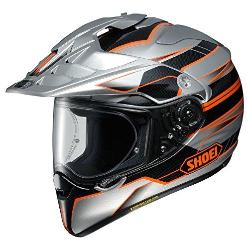 Shoei Hornet X2 Navigate Street Racing Motorcycle Helmet - TC-8  Large