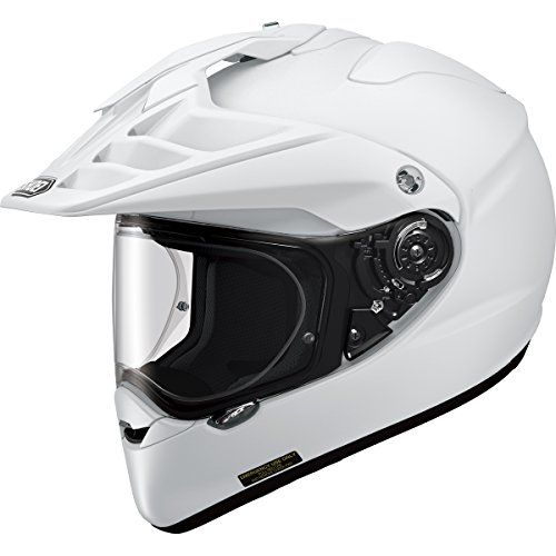 Shoei Hornet X2 Street Bike Racing Motorcycle Helmet Medium White