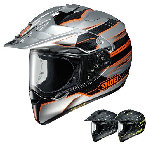 XL Shoei Hornet X2 Navigate TC-8 Dual Sport Adventure Motorcycle Helmet