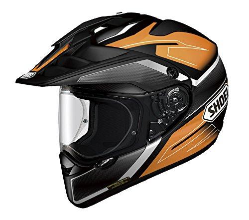 Shoei HORNET ADV SEEKER TC-8 Orange Black XL 61cm Size Full Face Helmet