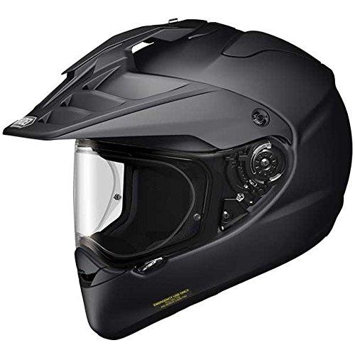 Shoei Hornet Adv Plain Matt Black Motorcycle Helmet
