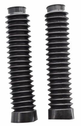 Pyramid Parts Fork Gaiters For : Yamaha Xt500 (black)