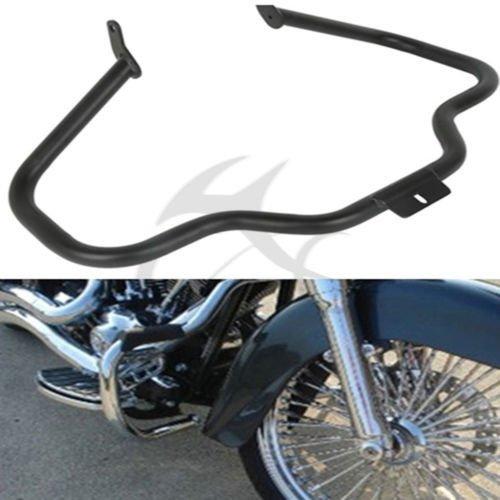 Xfmt Motorcycles Black Engine Guard Crash Bar For Harley Heritage Softail Flstnse Flstn Flstf 2000-2016