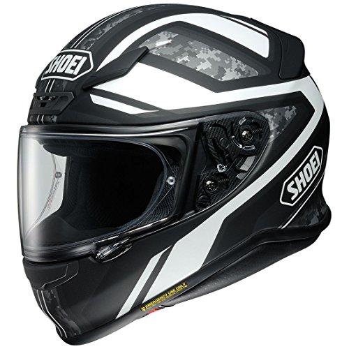 Orange Cycle Parts Full Face Motorcycle Street Helmet DOT Certified by Shoei RF-1200 X-Large Parameter TC-5 Black White Digi Camo