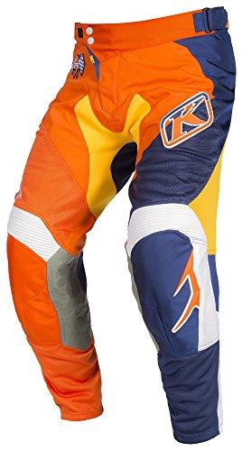 Klim XC Mens Dirt Bike Motorcycle Pants - Orange FlameSize 34