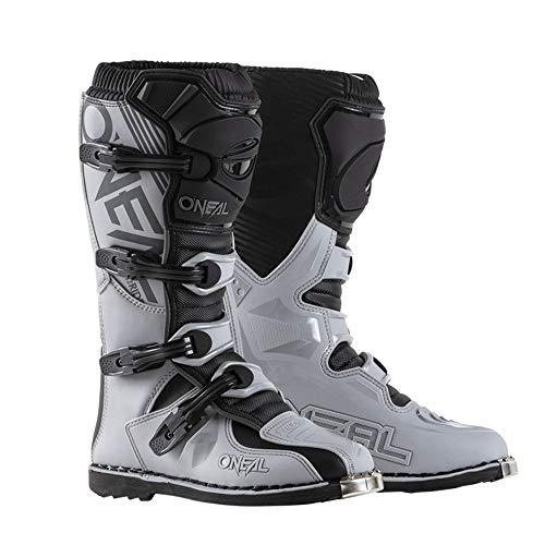 ONeal Mens Dirt Bike Boots Gray 9