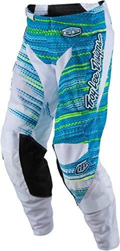 Troy Lee Designs GP Air Electro Mens Dirt Bike Motorcycle Pants - White 28