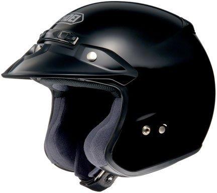 Shoei RJ Platinum R Open-Face Helmet - MediumBlack