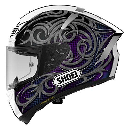 Shoei Kagayama 5 X-14 Street Racing Motorcycle Helmet - TC-5  Medium
