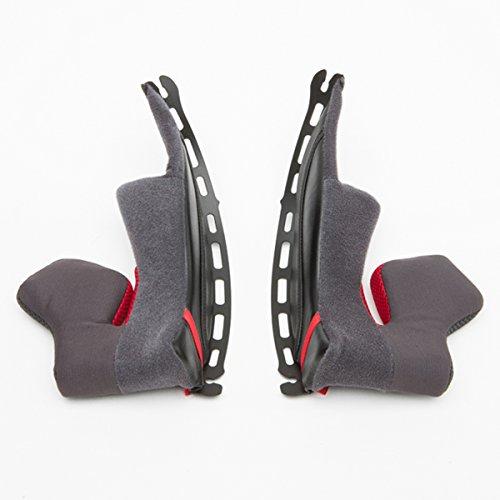Shoei X-14 Type-I Cheek Pad 39 Street Bike Racing Motorcycle Helmet Accessories - Black One Size
