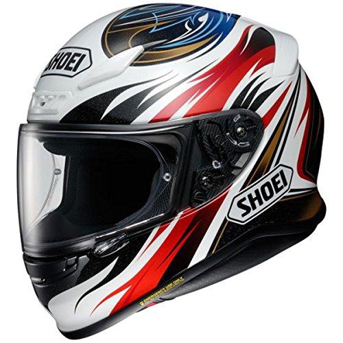 Shoei RF-1200 Incision BlackRedWhiteBlue Full Face Helmet - Large