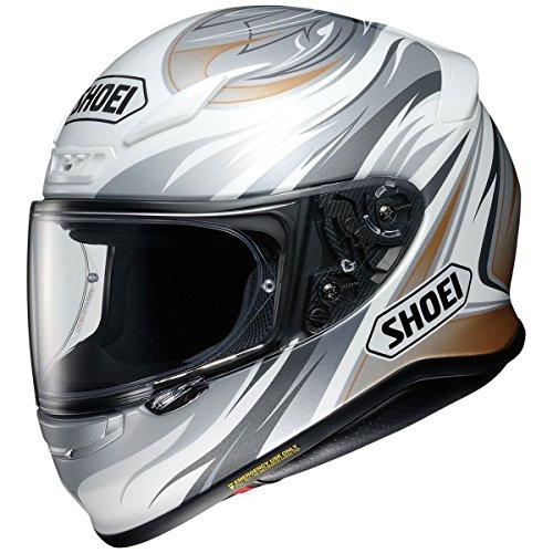 Shoei RF-1200 Incision WhiteGreyGold Full Face Helmet - Small