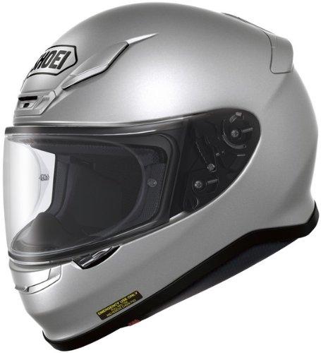 Shoei Rf-1200 Light Silver SizeMED Full Face Motorcycle Helmet
