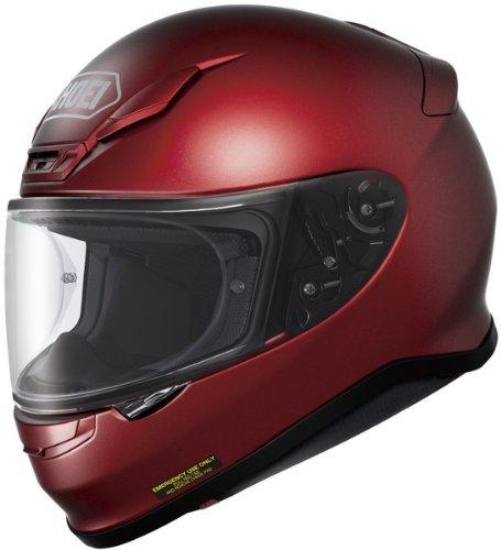 Shoei Rf-1200 Wine Red SIZELRG Full Face Motorcycle Helmet