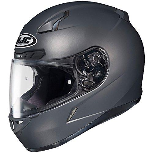 HJC Full Face Helmet CL-17 Solid Matte Anthracite
