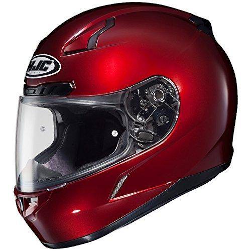 HJC Full Face Helmet CL-17 Solid Metallic Wine