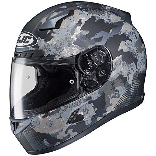 HJC Full Face Helmet CL-17 VOID MC-5F