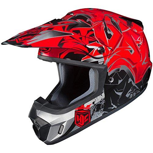 HJC Full Face Helmet CS-MX II SQUAD MC-1F