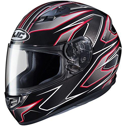HJC Full Face Helmet CS-R3 SPIKE MC-1