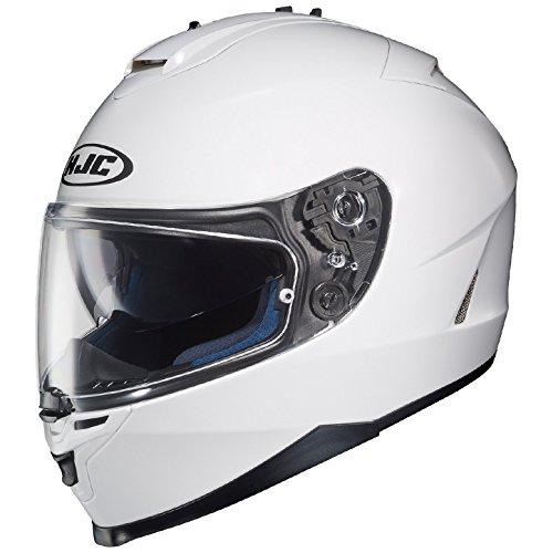 HJC Full Face Helmet IS-17 SOLID Metallic White
