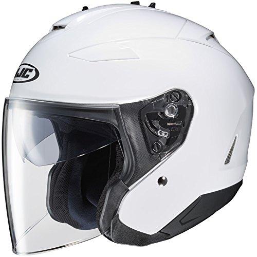 HJC Full Face Helmet IS-33 II SOLID METALLIC - White