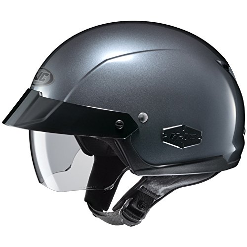 HJC Full Face Helmet IS-CRUISER SOLID METALLIC - Anthracite