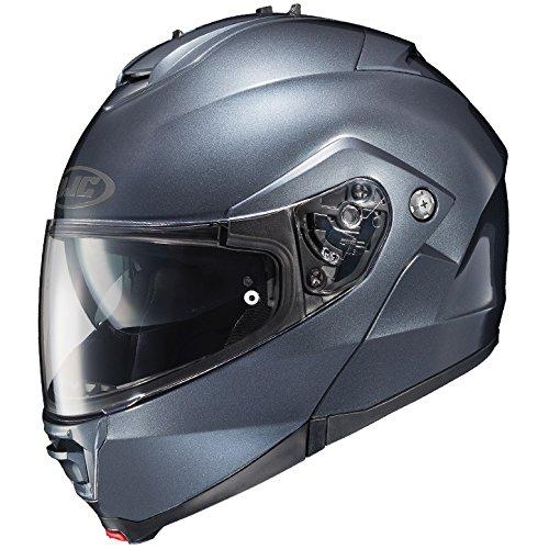 HJC Full Face Helmet IS-MAX 2 SOLID Metallic Anthracite