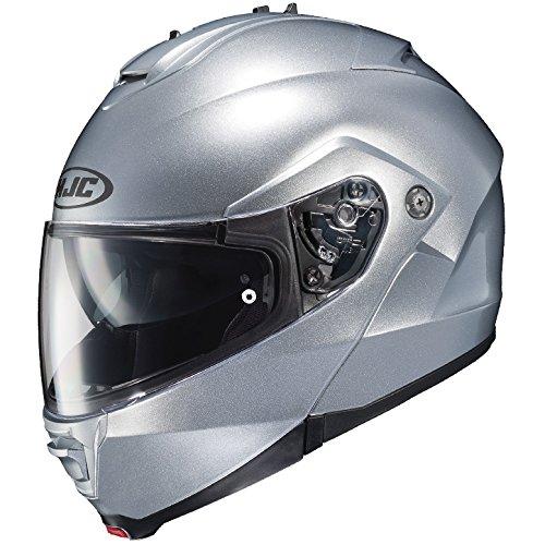 HJC Full Face Helmet IS-MAX 2 SOLID Metallic Silver