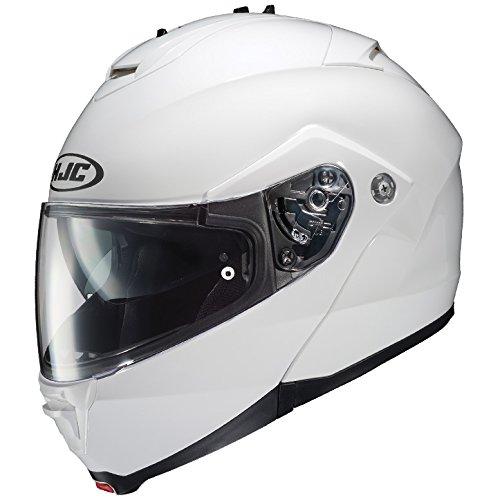 HJC Full Face Helmet IS-MAX 2 SOLID Metallic White