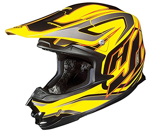 HJC FG-X Hammer Off-Road Helmet YellowBlackSilverRed XX-Large