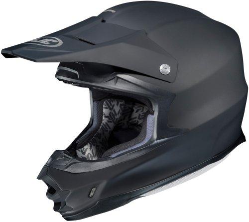 HJC FG-X - Motocross MotoX Dirt Helmet - Matte Black - LG