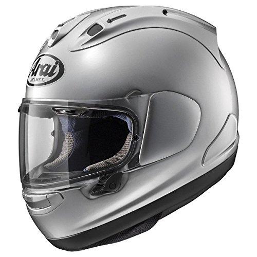 Arai Corsair X Aluminum Silver Full Face Helmet - Large