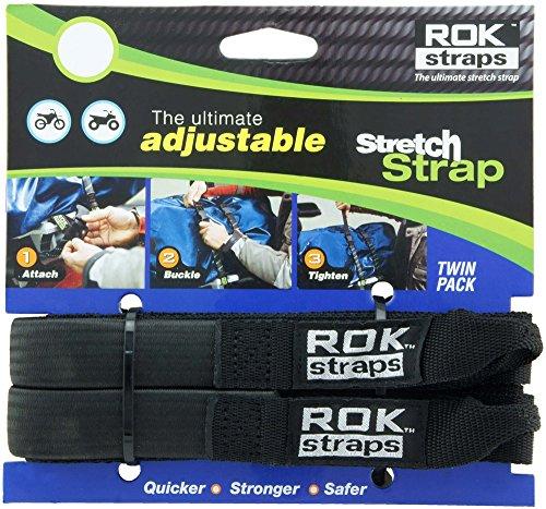 ROK Straps ROK-10314 Black 12 - 42 Pack Adjustable Stretch Strap