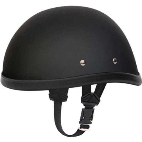 Daytona Eagle BasicCustom Novelty Cruiser Motorcycle Helmet - Dull Black  X-Large