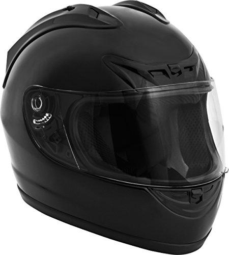 Fuel Helmets SH-FF0016 Unisex-Adult Full Face Helmet Gloss Black Large