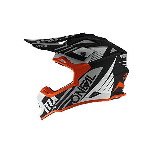 ONeal 2 Series Unisex-Adult Off-Road Helmet BlackWhiteOrange XL