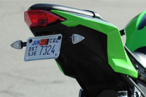 Kawasaki 2013 2014 2015 Ninja 300 Pod Signal Kit, Fender Eliminator, Plate Light, And Resistors Bundle