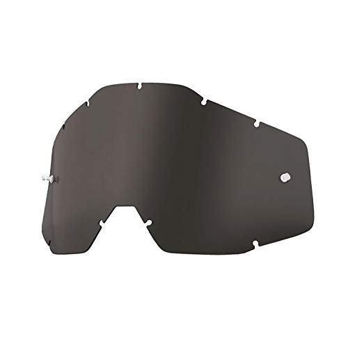 100 RACECRAFT ACCURI STRATA Goggle Replacement Lens - Color Dark Smoke